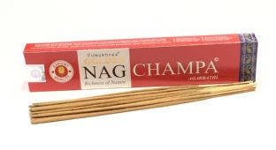 Vijayshree Golden Incense Sticks - Nag Champa (15g = 15 sticks approx.)
